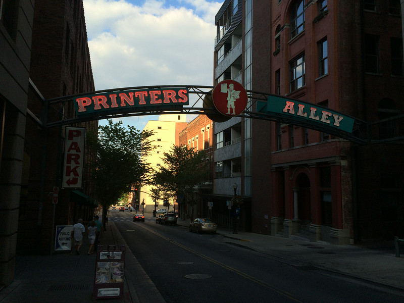 Printer's Alley Nashville