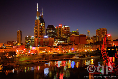 NASHVILLE AT TWILIGHT