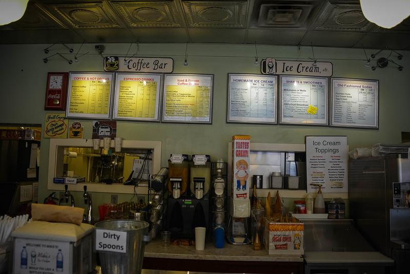 mike's ice cream shop broadway nashville