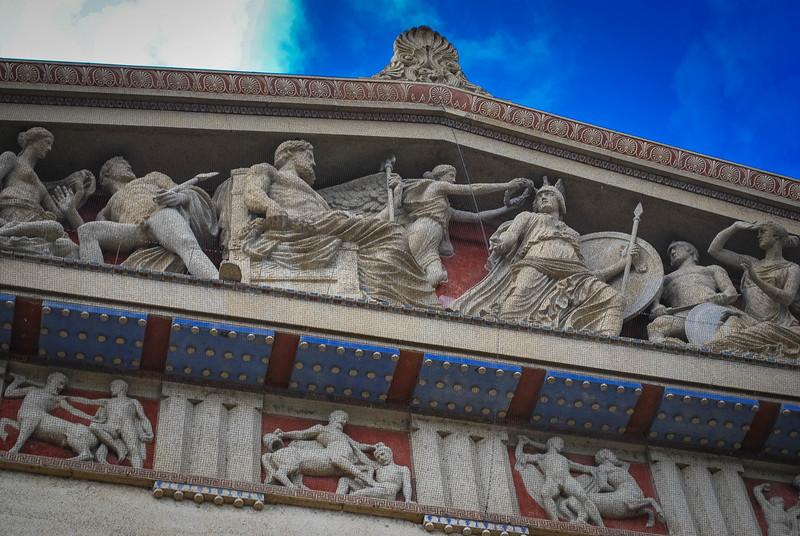 parthenon ornate design