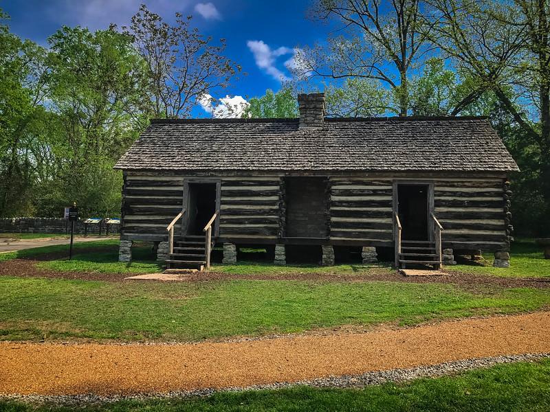 belle meade slave cabin