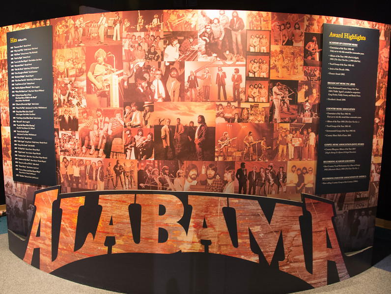 country music hall of fame alabama exhibit