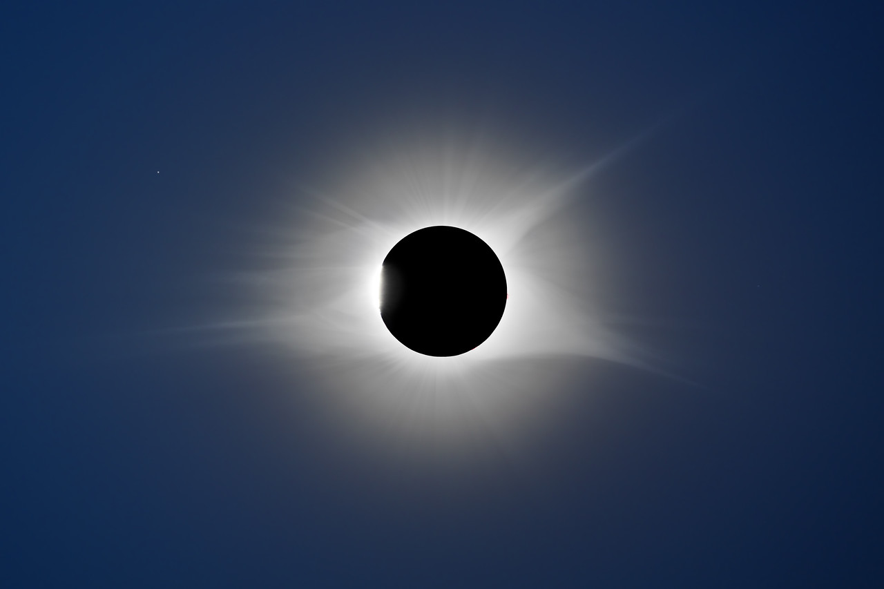 Regulus, Diamond Ring and Total Solar Eclipse 2017