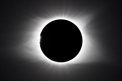 Baily's Beads, Corona, Total Solar Eclipse 2017