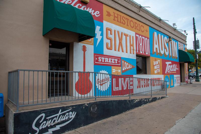 austin 6th street murals
