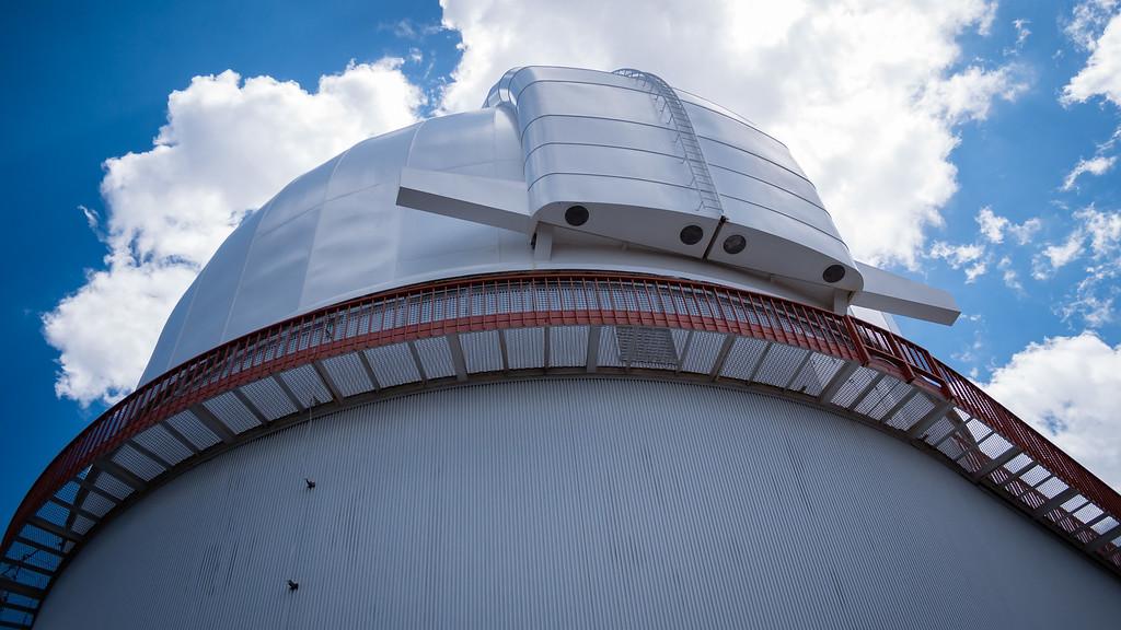 "107"" Telescope Building"