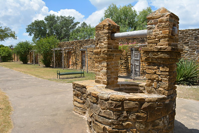 Old well at Mission San Jose