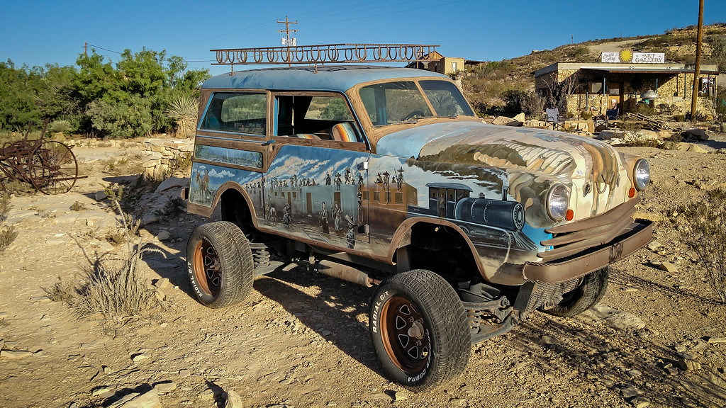 Terlingua Ghost Town Cars