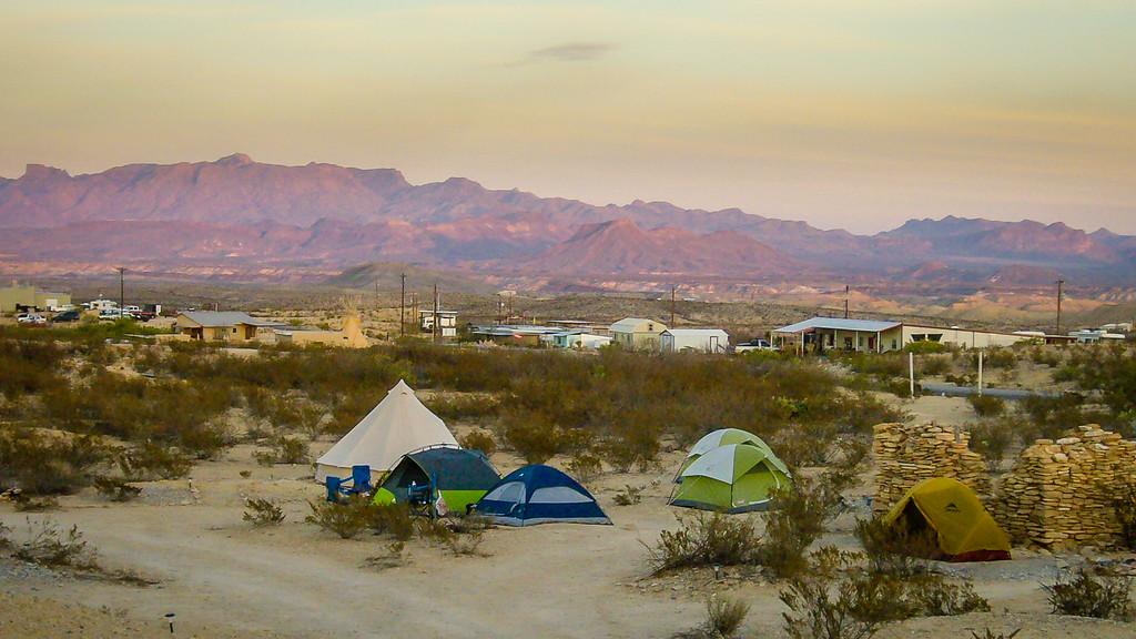 Camping Terlingua