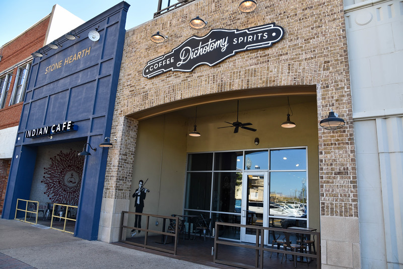 dichotomy coffee and spirits waco