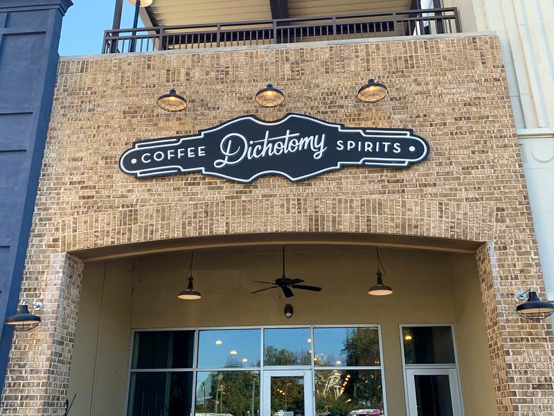 dichotomy coffee and spirits waco