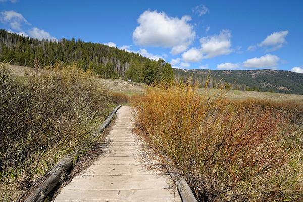 première rando, Fawn creek, au nord est de Yellowstone, et petite mise en jambes
