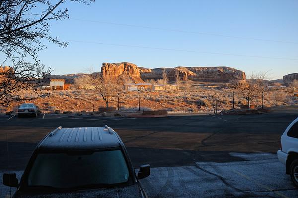 mardi 12 février Il fait bien froid aujourd'hui, -7° au reveil, mais enfin un beau soleil