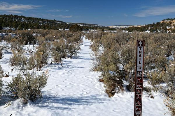 Tant qu'à y être, on décide d avancer un peu, dans la neige fraîche, sans traces et sans GPS