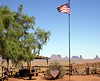 Monument Valley stars and stripes, 13 September 2006 1