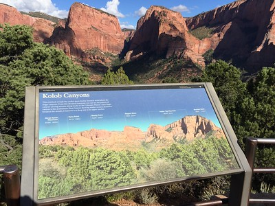 Kolob Canyon overlook