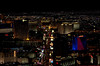 Stratosphere Tower 7:  Looking south over The Strip.  Las Vegas, September 2006