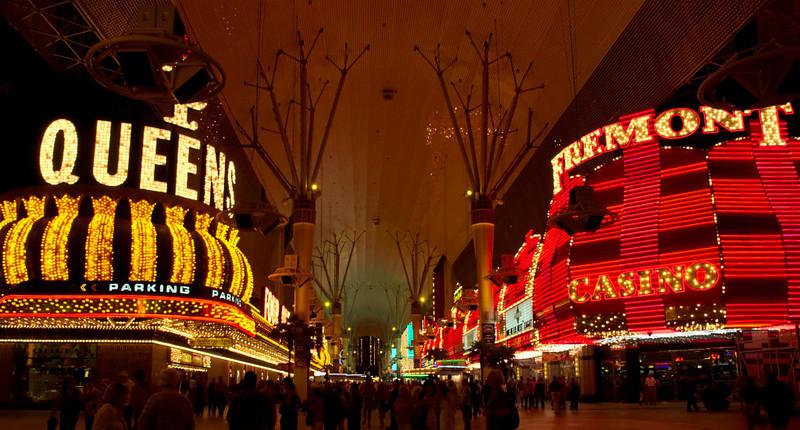 Fremont Street Experience 3.   Las Vegas, September 2006