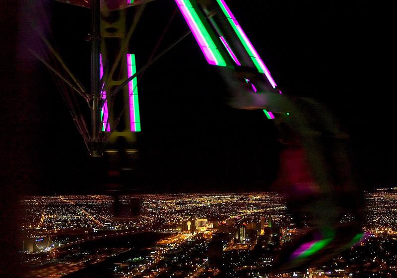Stratosphere Tower: Insanity 2.  Las Vegas, September 2006