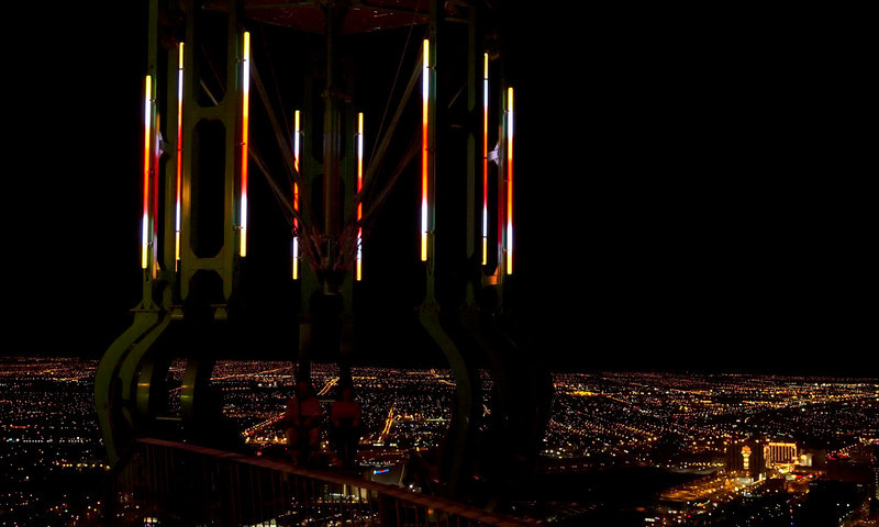Stratosphere Tower: Insanity 1.  Las Vegas, September 2006