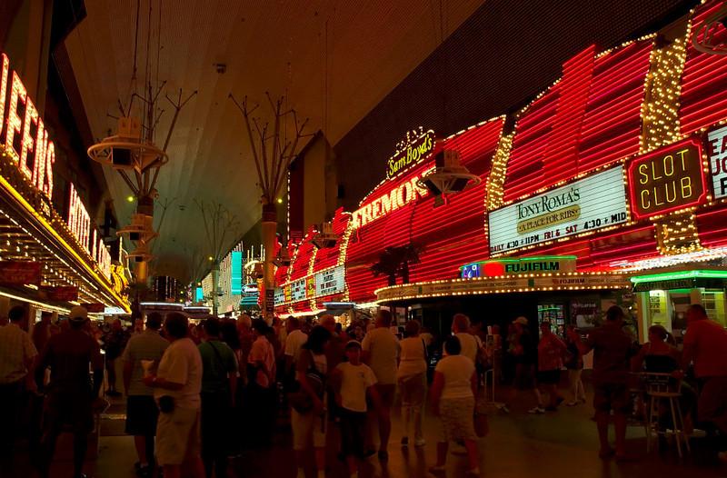 Fremont Street Experience 2.   Las Vegas, September 2006