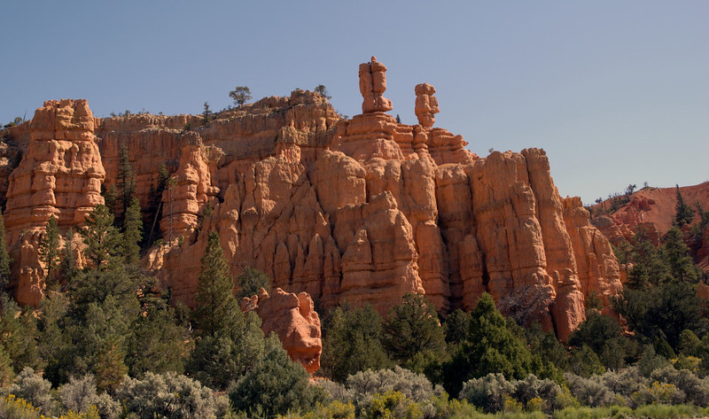 Red Canyon, Bryce National Park, Utah, 5 September 2006