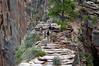 Angel's Landing 5: Starting out anyway. Zion National Park, Utah, 6 September 2006