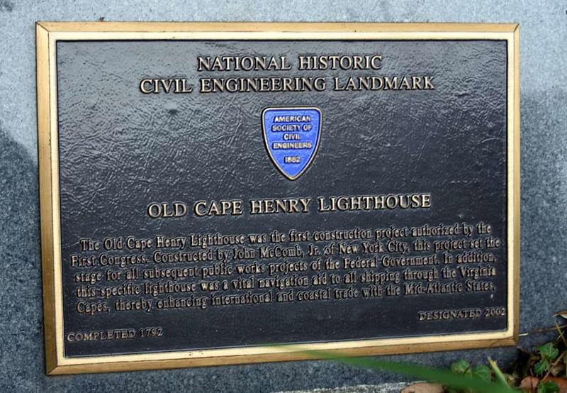 Old Cape Henry lighthouse, Virginia Beach, Virginia, 21 May 2017.