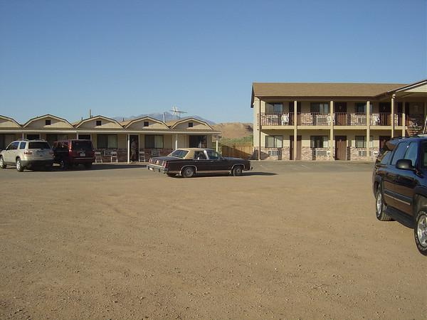 le motel...