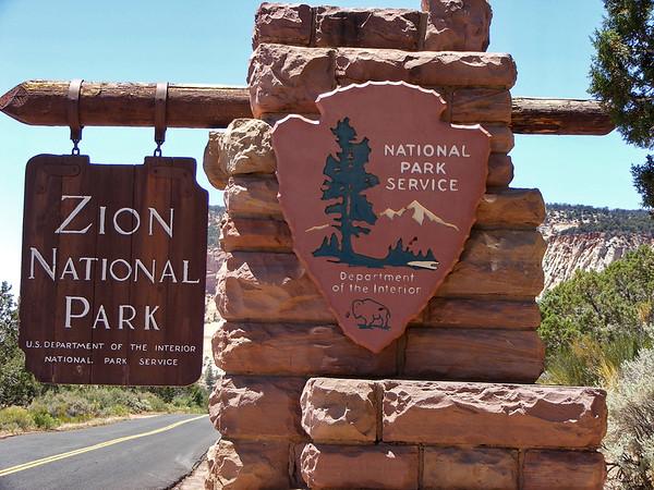 Et on arrive à Zion, un de mes parcs préférés