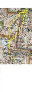 1ere partie, de Salt Lake City à Gardiner et retour par Jackson Hole