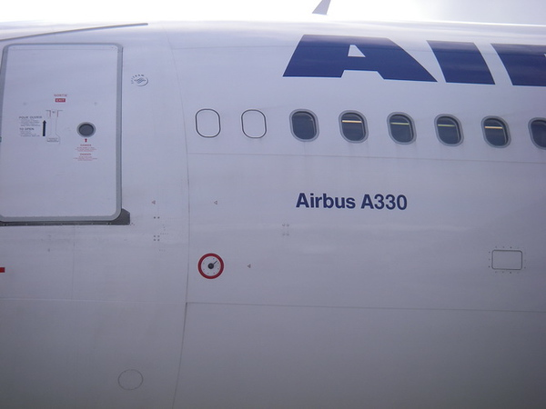 Notre avion de Paris à SLC