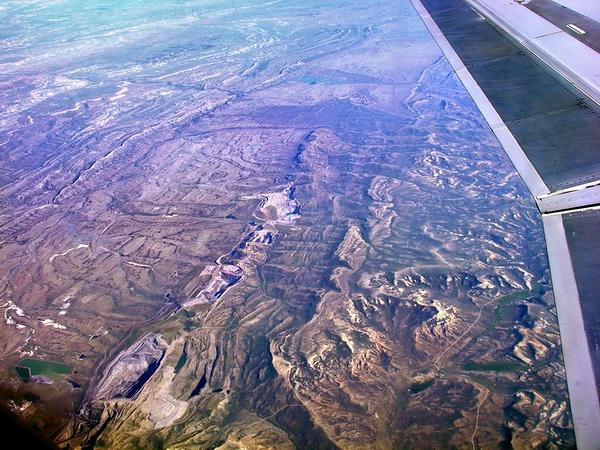 Arrivée en fin de journée à Salt lake city, on prend la voiture chez Alamo, et départ plein nord...
