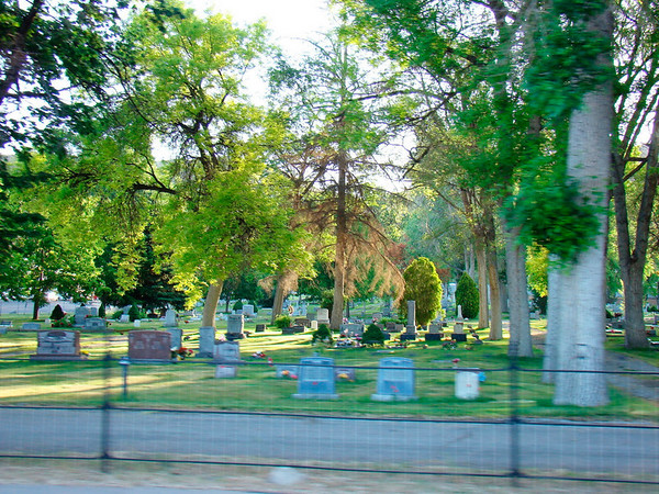 Le trés joli cimetière de Pocatello