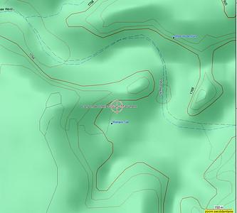 Sur cette carte, notre rando s'appelle Womans Trail