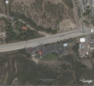 L'hôtel de Durango, Inn and suites, vu de haut! Nous sommes à 10mn du centre-ville de Durango