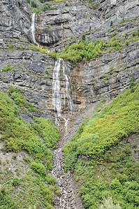 On quitte Bridal Veil Falls pour continuer la route vers le sud. Prochain arret: Springville