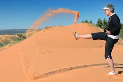 effet de sable!