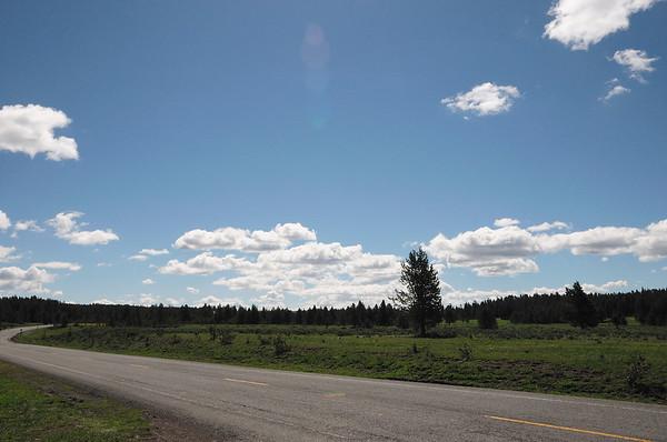 Nous nous garons à Cascade meadows