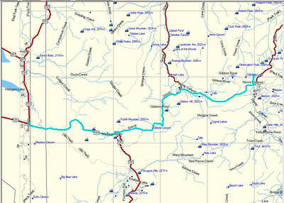Aujourd'hui, nous quittons Yellowstone pour Grand Teton. Avant celà, nous avons programmé une rando à Cascade Lake