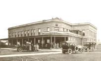 L'hôtel Irma, vers 1920