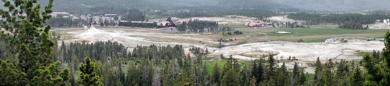 Panorama depuis la montée vers Solitary