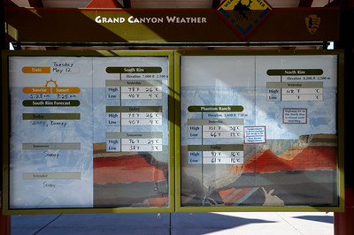 les panneaux très bien faits du visitor center