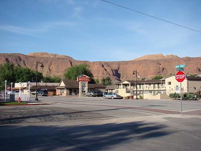 mardi 26 mai 2009 Nous quittons à regret Moab, qui est décidemment une ville fort sympathique