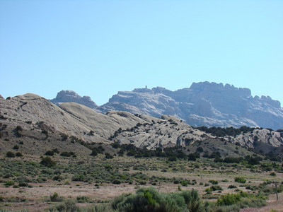 Arrivée à Dinosaur coté Utah, nous voulons aller faire le petit trail de Sound of silence