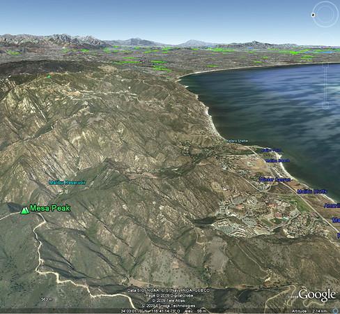 la preuve sur Google Earth!!!