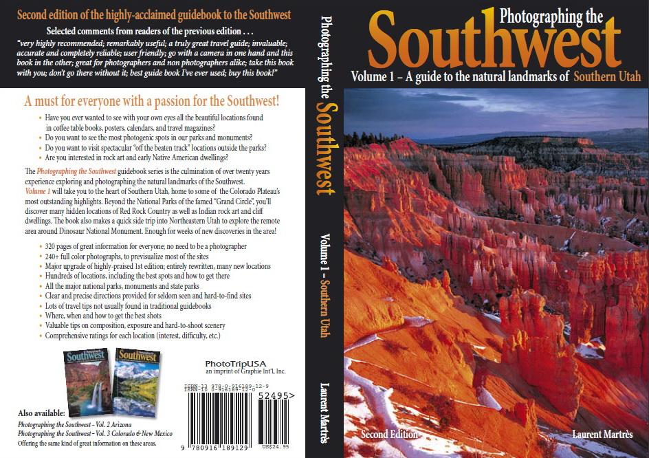 """Pour préparer un tel voyage, il faut de la documentation...<br /> Je joins ici tous les moyens que j'ai utilisés pour construire le trip 2OO9<br /> Les livres de Laurent Martrès - Author/Photographer, auxquels Philippe Schuler a collaboré, sont la bible du photographe-randonneur dans le south west<br /> <br />  <a href=""""http://www.martres.com"""">http://www.martres.com</a><br /> <br />  le site où on peut voir les photos superbes<br /> <br />  <a href=""""http://www.phschuler.com"""">http://www.phschuler.com</a><br /> Là aussi, de magnifiques photos de Philippe, à qui j'ai téléphoné, et qui m'a donné de super bons conseils d'itinéraires, ce qu'il faut voir, et surtout, ce qui n'a pas d'intérêt...Ça nous a évité des kilomètres pour rien<br /> merci beaucoup Philippe!!!"""