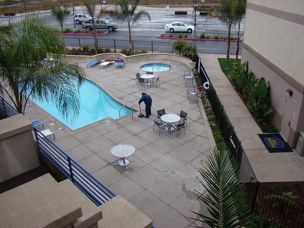 Notre Hotel, qui n'est pas trés bien situé ( si j'avais su, j'en aurai pris un vers La Jolla, plus prés de nos activités), mais il a ouvert il y a un mois, et les chambres sont TRES confortables