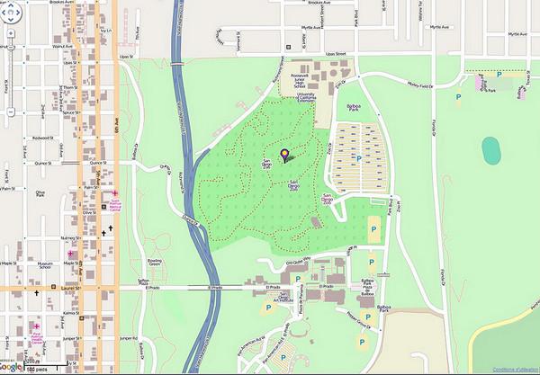 le zoo est quasiment centre ville