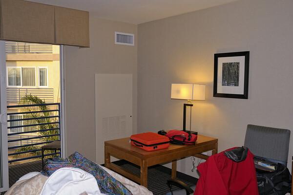 La chambre de notre hôtel